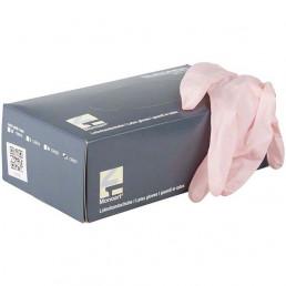 Перчатки латекс 100шт, Розовый, Monoart, S(6-7) Euronda