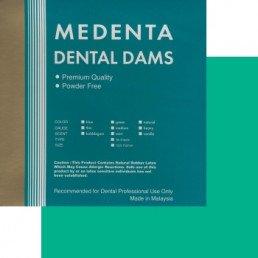 Листы для раббер дам, Зеленые тонкие, Medenta (36 шт)