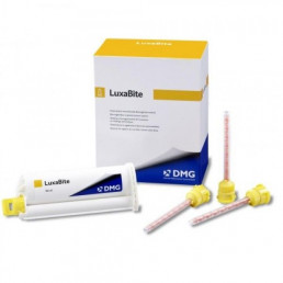 Люксабайт (50 мл + 15 смесителей) материал для регистрации прикуса на основе бисакрилата, DMG (Luxabite)