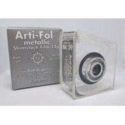 Копирка фольга BAUSH 12мик. ВК39 прямая(рулон) металлик без покрытия (16мм*20м) Shimstock