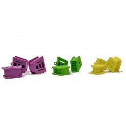 Прикусной блок Лягушка, размер M, для удержания рта пациента (1ш)