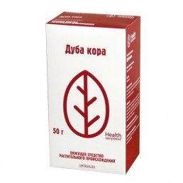 Дуба кора, пачка (50 г) Фирма Здоровье