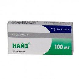 Найз, таблетки (100 мг) (20 шт) Д-р Редди`с