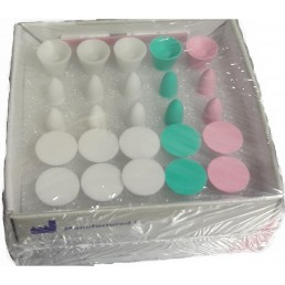 Кенда №900.ASS (25шт) - набор полир. для композитов (диск, конус, чашка)