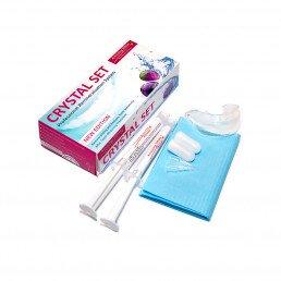 Кристал Сет (2шпр*4мл Минералс + капа) Гель для реминерализации зубов, Amazing White (Crystal Set Minerals)