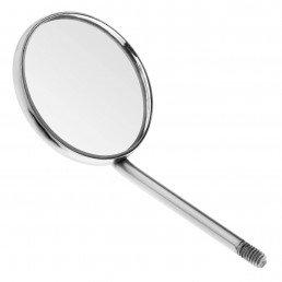 23-2 Зеркало стоматологическое №5, 24 мм, 12 штук в упаковке