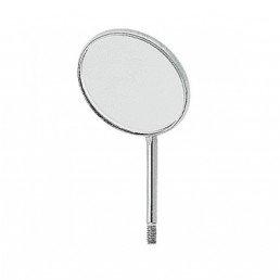 Зеркало №4 стомат. НЕ увеличивающее, 22мм (1шт)
