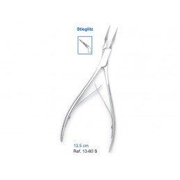 13-60S Зажим для удаления костного фрагмента и  мелкого инструмента 13,5см Stieglitz