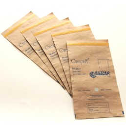 Крафт Пакеты д. стерил 11,5х24,5 (100шт) Винар