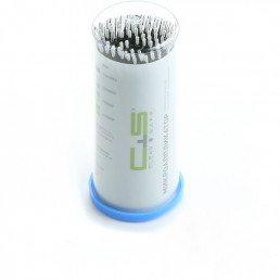 Аппликаторы Clean+Safe №1 X-SLIM ЧЕРНЫЕ (XS=0,5мм) (100шт)