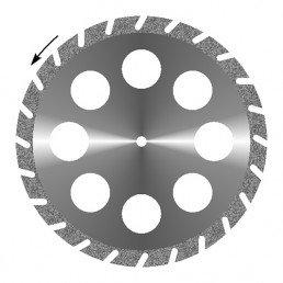 """Диск отрезной алмазный """"Гипс 8 отверстий"""" (30мм, крупнозернистый) 1 шт. Агри"""