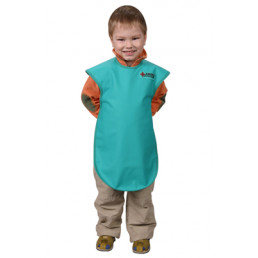 Фартук рентгенозащитный односторонний, детский (винил, 0,35 Рb мм, рост 120-134 см) СПЕЦМЕДПРИБОР