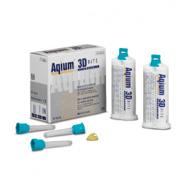 Aqium 3D BITE (2х50мл) А-силикон для регистрации прикуса MUELLER-OMICRON (Aqium 3D BITE)
