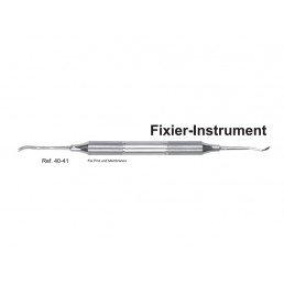 40-41 Инструмент для фиксации пинов и мембран, ручка DELUXE, ø 10 mm