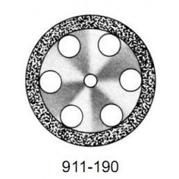 DISC  911/190 (200)   (0,55 mm) двухст.край.отверстия