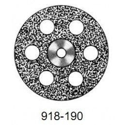 DISC  918/190 (200)   (0,40 mm) верх.полный.отверстия