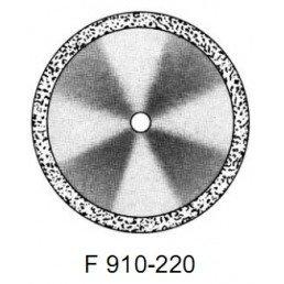 DISC F 910/220       (0,30 mm) двухст.край