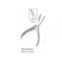 14-1 Кусачки костные Mini-Friedmann, 12 см, рабочая часть 3 мм