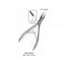 14-3 Кусачки костные Blumenthal, 15 см, 3,5 мм, 45° угол рабочей части