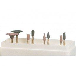 Алмазные полиры для композитов набор №2, (4формы*2шт) Целит