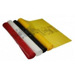 Пакет для медотходов класс Б(Желтый) 120л (700*1100 мм) 15мкн (уп 100шт +стяжка) Инновация