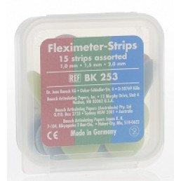 Копирка шаблоны BAUSH ВК253 гибкие (15 листов) ассорти (Fleximeter Strips)
