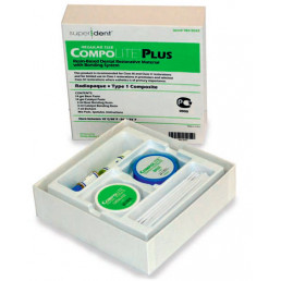 Комполайт + (14гр+14гр)  химический композит Super-dent (США)