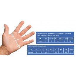 Перчатки латекс 100шт,  Dispodent, S (6-7)