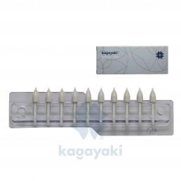 Кагаяки полир силиконовый КОНУС (10шт), Япония