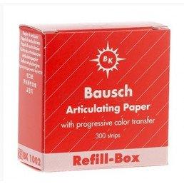 Копирка бумага BAUSH 200мик. ВК1002 прямая красная (300листов)