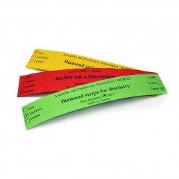 Штрипсы металич. АГРИ 4мм, красные (Зерно: крупное, 50мкм), уп 5шт