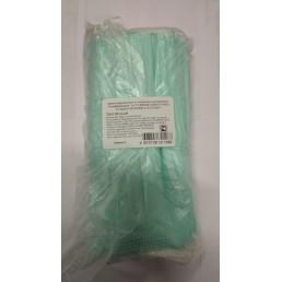 Маски на резинках Зеленые (50шт) SMZ 3-х сл (в П/Э)