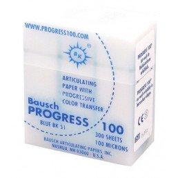 Копирка бумага BAUSH 100мик. ВК51 прямая синяя (300листов)