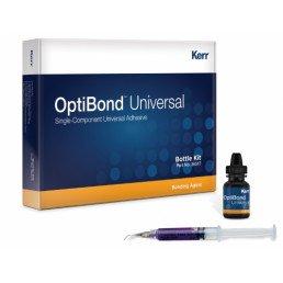 Оптибонд Юнивёрсал Набор(5 мл+3 г+аксессуары) универсальный самопротравливающий адгезив, KERR (OptiBond Universal)