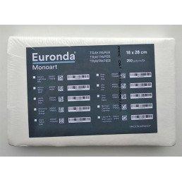 Салфетки автоклавируемые для подносов белые (18*28 см) (250 шт) Euronda