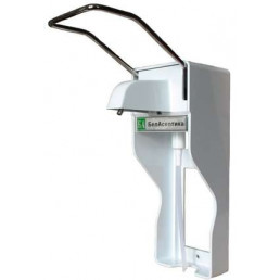 Локтевой дозатор, настенный (ДУ-010)  - для жидкого мыла и кожных антисептиков БелАсептика