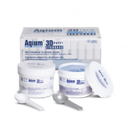 Aqium 3D патти стандарт (2*300мл) база+кат А-силикон MUELLER-OMICRON (Aqium 3D PUTTY STANDART)