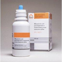 Жидкость ЭДТА 20% (100мл) для расширения и выявления устья каналов зубов Технодент (МД клинсер)