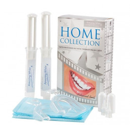 АмейзингВайт Celebrity Dental Lab Hollywood Smile (2 шпр + 2 термокаппы) Набор д. домашнего отбеливания, Amazing White