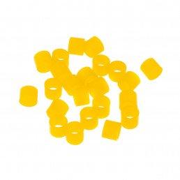 Маркировочные кольца для инструмента, желтые, упаковка 50 шт.