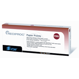 Реципрок штифты бумажные ассорти (144шт) VDW