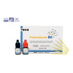Футурабонд DC (Флаконы 4+4мл) Самопротравливающий бонд ДВОЙНОГО отверждения, усиленный нанонаполнителем VOCO (Futurabond DC)