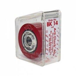 Копирка бумага BAUSH 40мик. ВК14 прямая(рулон)(диспенсер) красная (15м*16мм)