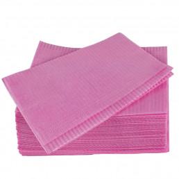 Салфетки нагрудники 2-х сл Розовые (500шт) EleGreen