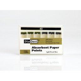 Штифты бумажные DiaDent 02 №40 (200шт)