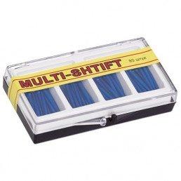 Мульти Штифт Синие (1,6мм х23мм) (80шт) -беззольные штифты Рудент