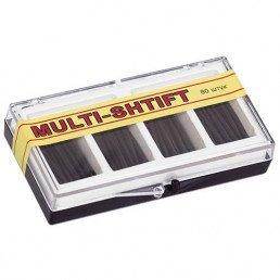 Мульти Штифт Черные (2мм х23мм) (80шт) -беззольные штифты Рудент
