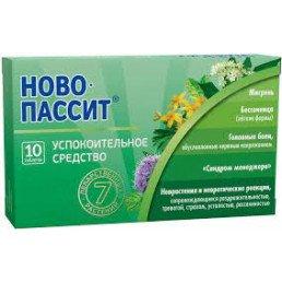 Ново-Пассит таблетки п.п.о. (10 шт) Тева Фармацевтические Предприятия Лтд