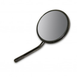 Зеркало №8 стомат. НЕ увелич., 30мм (1шт) Optima 11-8-SS с покрытием кромки зеркала, Roeder