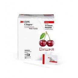 КлинПро Вайт Варниш Вишня (0,5гр. +кисточка) - фторлак 3M (ClinPro White Varnish Cherry)